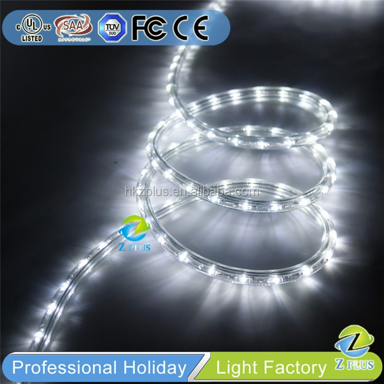 Cool White color Christmas rope light train