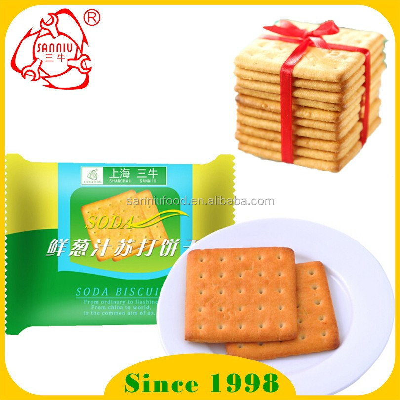 Hot sale Fresh onion Soda cracker