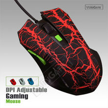 MAMBA II PC 6D 2000 DPI Adjustable USB Wired Optical Game Gaming Mouse Mice