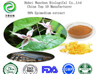 Epimedium extract Icariin 50% 60% 80% 98% epimedium extract
