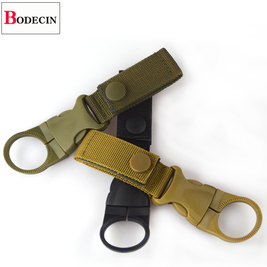EDC Tactical Gear Military Nylon Webbing For Outdoor Tools Buckle Hook Water Bottle Holder Belt Clip Bushcraft Camp Carabiners (12)