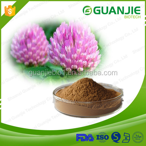 13 years manufactory supply high quality red clover extract