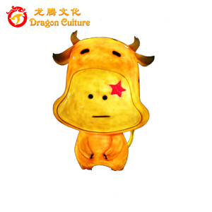 Amusement Park Decoration Life-size Fiberglass Animal Statues For Sale