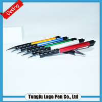 Fancy colored metal ball pen gel ink pen