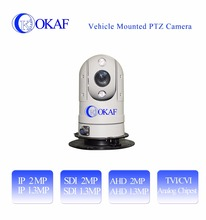 Outdoor Mini IP/SDI/AHD/Analog CCTV Security infrared vehicle mounted car PTZ dome Camera