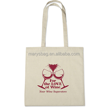 100% COTTON TOTE SCREEN PRINTED