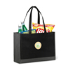 Recycle High Quality Wholesale Custom Canvas Cotton Tote Bag Black