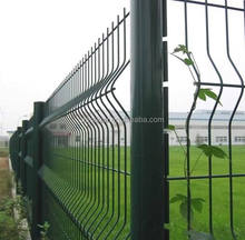 usd4.5 height 2m Ral6005 pvc coated peach shape fence post