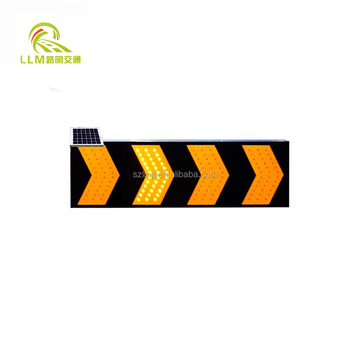 1200*600mm 4 Inch Lamp LED Traffic Light Truck Mounted Arrow Board for Sale