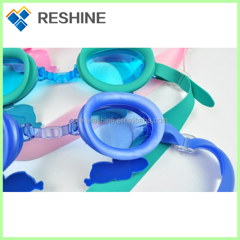 hot selling and fashion kids swimming goggles
