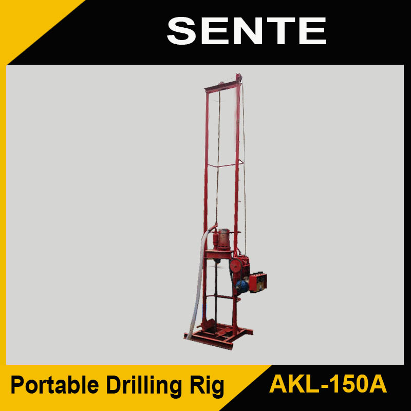 Hot Sale AKL-150A water well drilling and rig machine