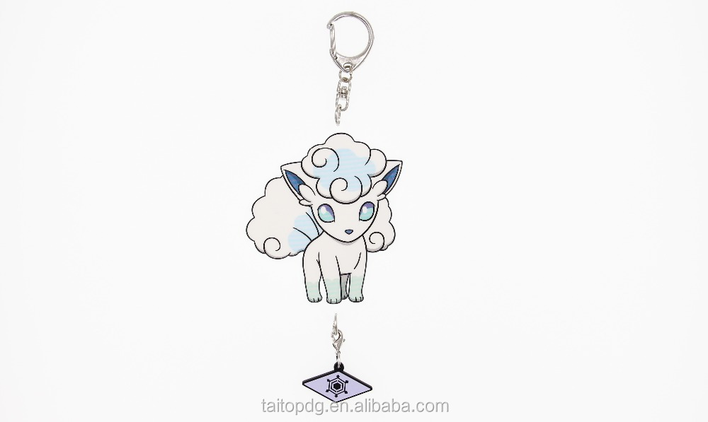 Pokemon acrylic keychain for keys bags