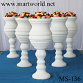 2018 fiber glass vase wedding decoration Fiber pillar Wedding glass fiber vase walkway fiber vase Centerpiece wedding (MS-136)
