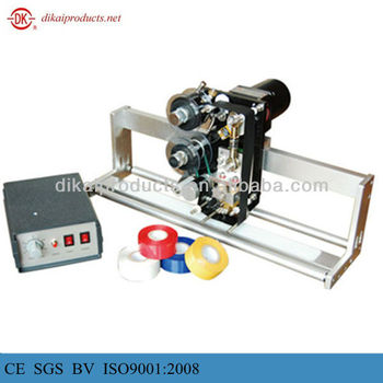 DK-700 hot stamp coder, expiry date stamping machine