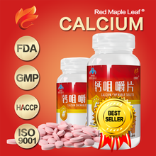 Child Body Building Food Supplement Calcium Chewable Tablets