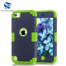 Hybrid Armor Cover Silicone TPU + PC Shockproof Coque Hard Phone Case cover for iPod Touch 5
