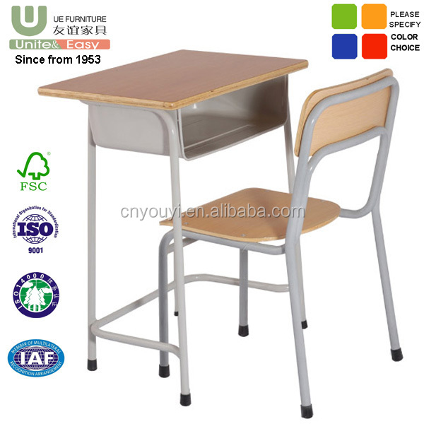 Classical Saudi Arabia Hot Sale Steel-Wooden school furniture