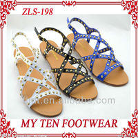 Rivet Decoration Very Good Quality Sandal King Shoes