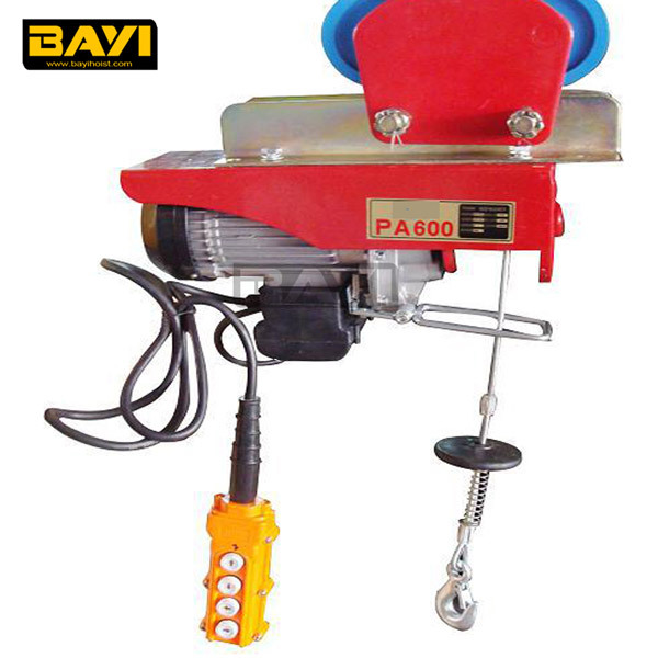 Widely use PA electric cable hoist 110v,electric winch hoist