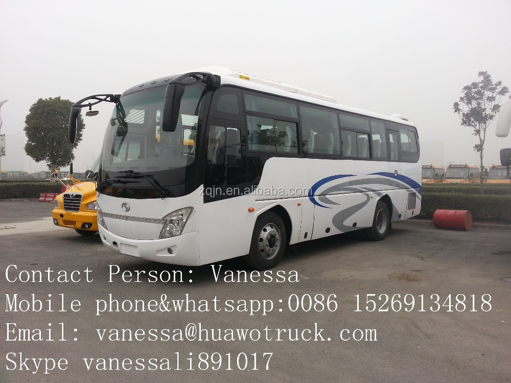 10m 35 seats right hand luxury bus price bus color design daewoo bus price