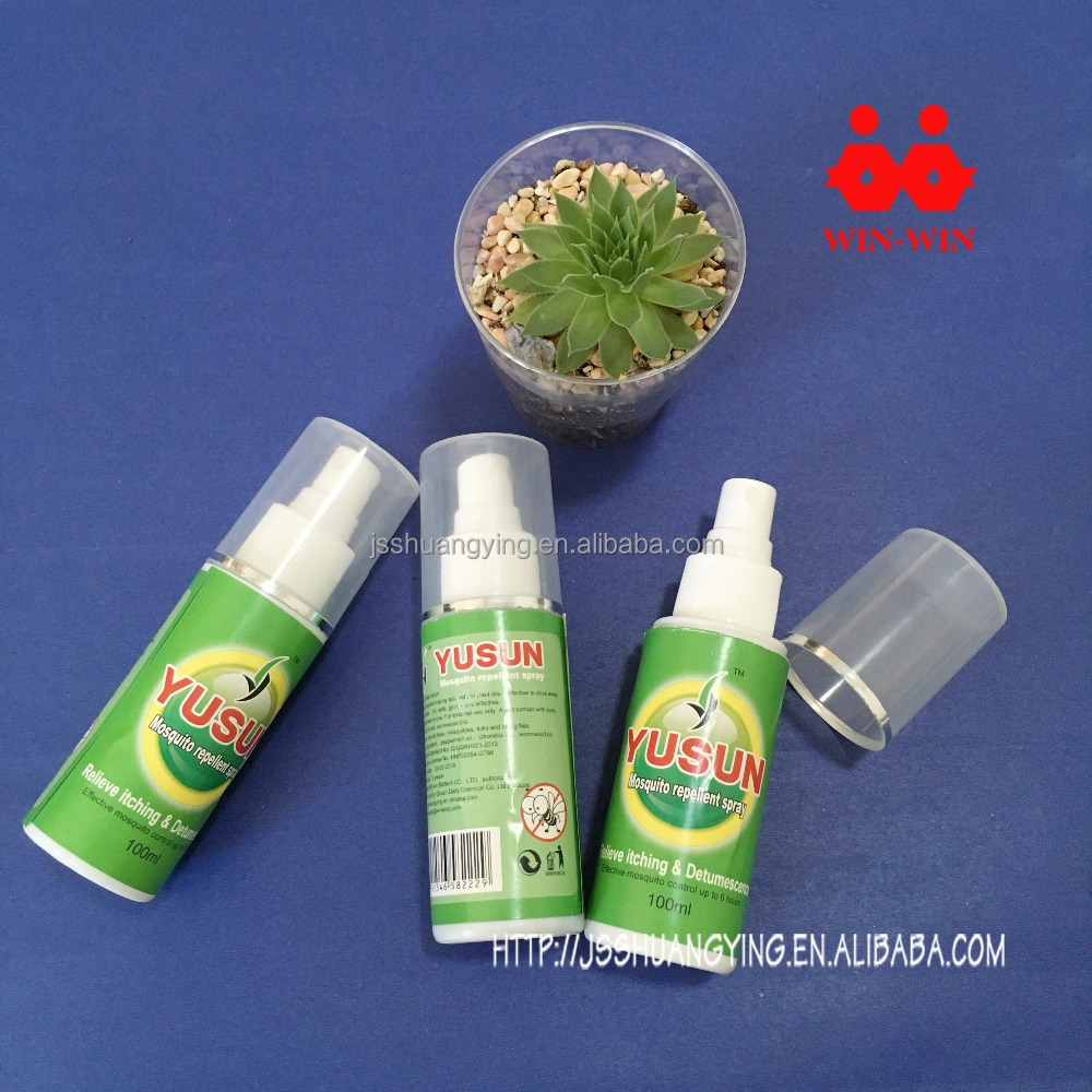 Fresh scent insecticide spray pump