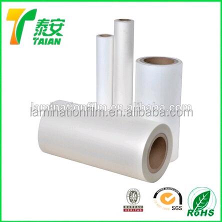 Special Biaxial oriented polypropylene Thermal Laminaton Film Anti scratch effect 35 micron with SGS certificate