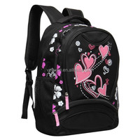 Free Shipping cheap student children book bag, girl backpack