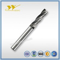 4 Flute Unequal Flute Spacing cutting tool for Titanium Alloys High Performance Machining