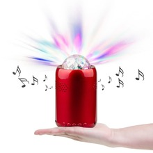 indoor wireless bluetooth colorful disco light speaker