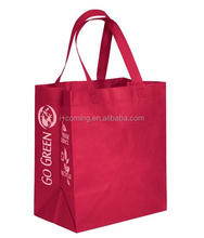 Non-woven Material and Handled Style insulated grocery bag
