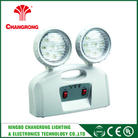 110-240VAC dual voltage operation Explosion Proof Twin Spot Emergency Light