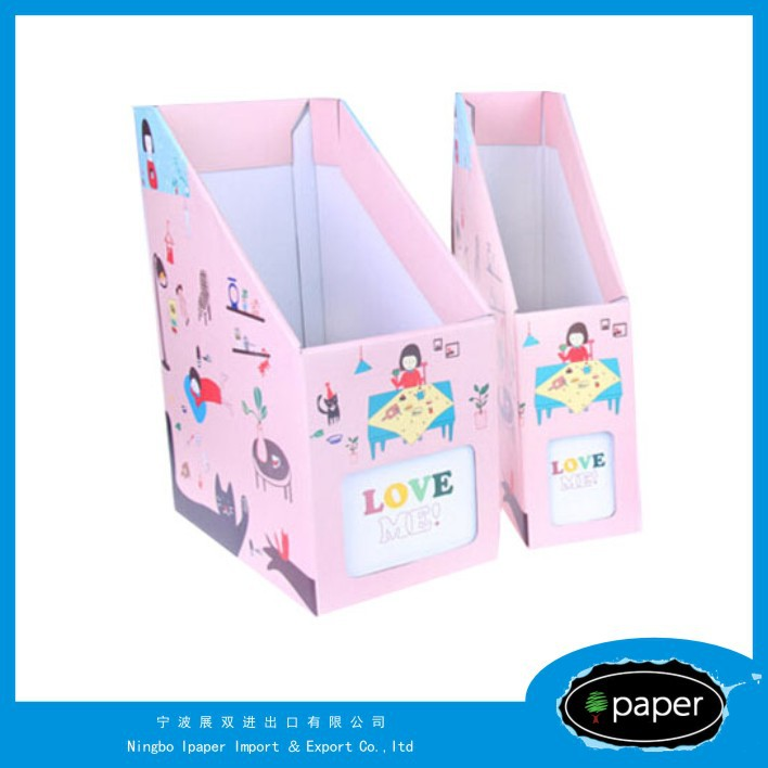 eco-friendly file holder pp file box in shanghai handle file case