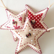 factory Recycled felt fabric Christmas ornament with high quality