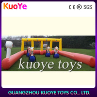 inflatable pony hop race track, inflatable horse riding, inflatable derby horse racing