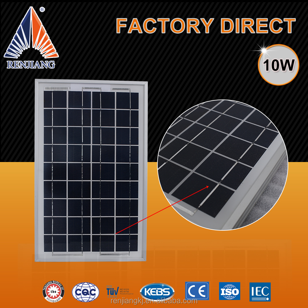 10W Solar Panel 10 Watt 12 Volt Pv Solar Module,Solar Cell Panel