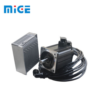 2.6kw 17 bit absolute CNC servo motor with amplifier