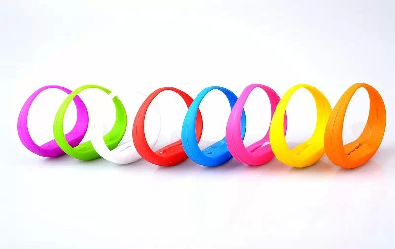 Movement light up silicon led bracelet