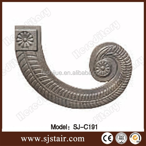 cast aluminum fence panel decorative parts fence ornament accessories