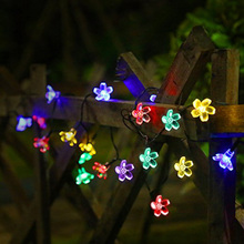 50 LED 22 feet Flower Bulbs Solar String Lights Decorative Lighting