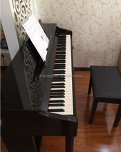 black USB upright digital pianos factory for teaching