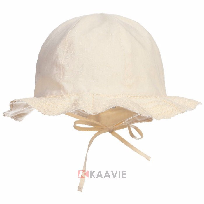 kids children 100% cootton slouch outdoor sun hat plain bucket hat