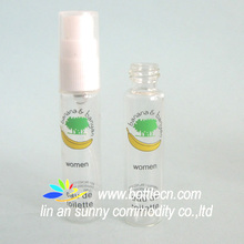 mini 1.5ml/2ml//3ml/4ml/5ml/8ml/10ml/12ml/15ml small plastic perfume spray pump bottles vials,liquid dispensing pen