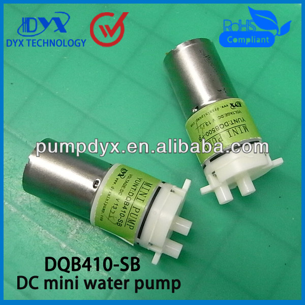 micro low volume submersible water pump 12V