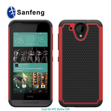 fashional sport style football tatoo back tri-defender cover for HTC Desire 520 hybrid cell phone case