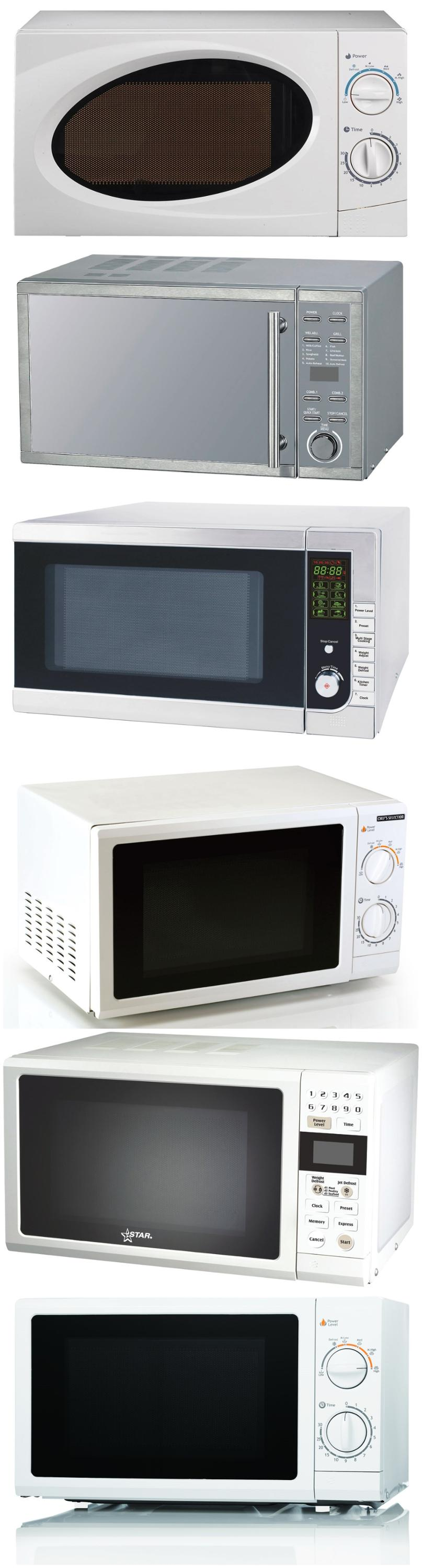 17L Table top portable Microwave oven for home use