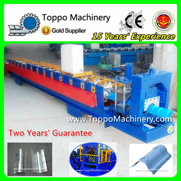 Roll Forming Machinery to Make Roof Ridge Cap