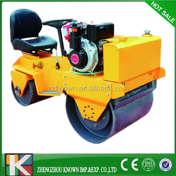 Construction Machinery Equipment double Drum Self-propelled Vibratory Road Rollers
