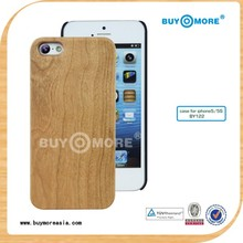 Green Products cherry wood for iphone 5c battery wooden cover case