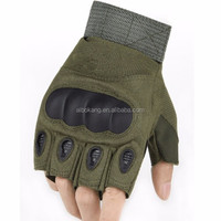 ARMY TACTICAL POLICE COMBAT HARD KNUCKLE SHOOTING GLOVES
