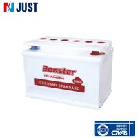 Hot selling brand BOOSTER 12V 66AH DIN66 car dry cell storage battery
